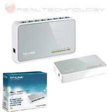 SWITCH ETHERNET 8 PORTE LAN 10/100 Mbps AUMENTA PORTE LAN TP-LINK TL-SF1008D
