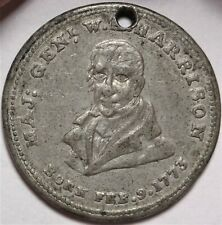 1840 W Harrison Presidential Campaign Token WHH 1840-54 HT-815A Political Medal