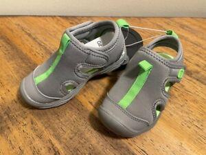 Cat & Jack Callahan Fisherman Sandals Toddler Boy's Water Shoes 6 M Grey 6M