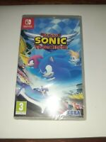 TEAM SONIC RACING GAME NINTENDO SWITCH New Sealed Age 3+