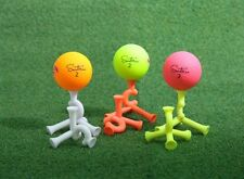Tripod Golf tee, No matter which direction you throw 50mm, White color