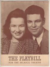 """Mr. And Mrs. North""  Playbill  1941  Broadway  Albert Hackett & Peggy Conklin"