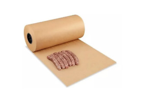 "OREN BBQ Butchers Peach Paper 45cm (18"") x 6m (20ft) ROLL MEAT SMOKING, WRAP"