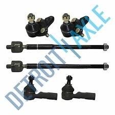 New 6pc Both Inner and Outer Tie Rod Ball Joint for 96-02 Toyota Corolla