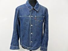 "Levi's homme Engineered Jeans veste en jean bleu Taille M 40"" VGOOD/Bon Article Stock WB170"
