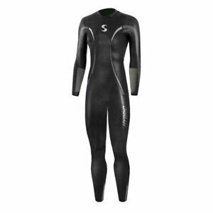 Women's Hybrid Fullsleeve Triathlon Open Water Wetsuit-sz-P3-5'2-5'8 & 115-130lb