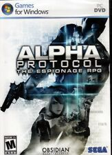 ALPHA Protocol (Espionage RPG PC Game)  Win XP/Vista FREE US Shipping