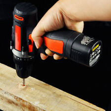 12V 2 Speed Variable Electric Cordless Drill Screwdriver Battery Powered Tool