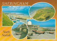 Salmon postcard - SHERINGHAM, North Norfolk