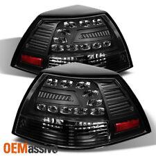 Fits 08-09 Ponitac G8 Gt Gxp 4Dr Sedan LED Black Tail Brake Lights Left+Right