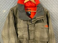 Mens Vintage The North Face Parka Jacket Hooded Rain Gear Coat Foul Weather Sail