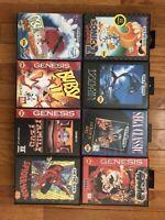 Lot of Sega Genesis Games