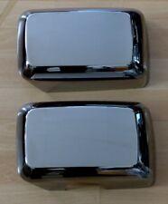 BLACK Chrom Cover Spiegelkappen für HUMMER H3