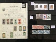 STAMPS FRANCE/4 COLONIES-TOGO/MAYOTTE...1891+ MINT&USED 4pg  #507