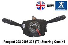 Peugeot 208 2008 Steering Column Com Stalk Switch Indicator Wiper New 98154509ZD
