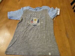 Womens 47 Brand 2016 Hazeltine Ryder Cup Commemorative Shirt, NWT, S