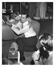 *TO PLEASE A LADY (1950) On-Set Clark Gable, Barbara Stanwyck, & Clarence Brown