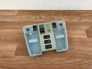 MERCEDES OEM W140 600SEL FRONT DOME LIGHT LAMP SUN ROOF SWITCH TAN OEM (92_99)