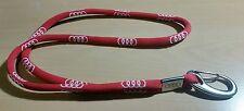 Audi Schlüsselband Lanyard Keyholder Logo rot Original 2015 - 46cm