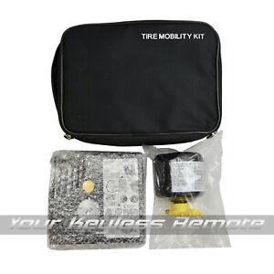 Brand New Tire Mobility Air Pump Kit Inflator + Sealent For Hyundai + Kia Models