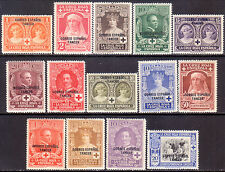 1926 SPANISH MOROCCO Yv #105-18 compl.set MH CV 84€ Red Cross