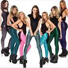 fashion Punk digital Mermaid fish Scale print Leggings Plus size Fitness legging