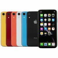 Apple iPhone XR 64GB 128GB 256GB Factory Unlocked CDMA + GSM Smartphone