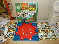 SAFARI BIG JIM gioco da tavolo MATTEL ANNI 70/80 QUASI COMPLETO BUONO/OTTIMO