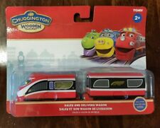 CHUGGINGTON WOODEN DALEY AND DELIVERY WAGON NEW