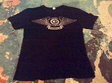 3 DOORS DOWN 2013 TOUR Medium T Shirt BLACK Excellent ESCATAWPA, MS