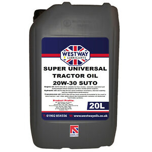 SUTO Super Universal Tractor Oil 20w30 Mineral 20L 20w-30