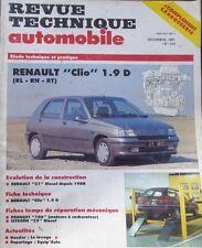 Revue technique RENAULT CLIO 1.9 D ( RL RN RT )  N° 534 1991 + EVO R21 DIESEL