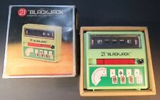 1972 Waco 21 Black Jack  Early Electronic Hand Held Video Game Console RARE