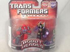 Transformers Univserse Robot Heroes Ironhide Kickback NEW MIB