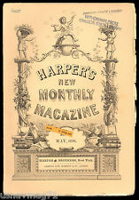 Harper's Monthly Magazine, May 1886, London Season, With Bluecoats on Border