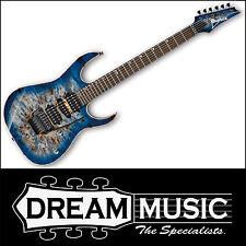 Ibanez Premium RG1070PBZ CBB Guitar Cerulean Blue Burst RRP$2399