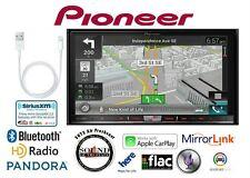"Pioneer AVIC-8200NEX 7"" Navigation DVD Receiver w/ Lightening to USB Adapter"
