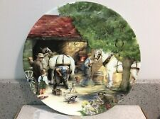 Old Country Crafts / Journey Through The Village Royal Doulton Collector Plates