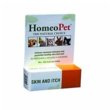 HomeoPet Skin and Itch 15 ml   Homeopathic Remedy for Dogs Cats and Birds