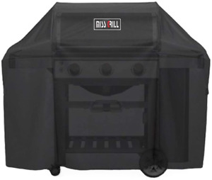 """58"""" BBQ Grill Cover For Weber Genesis II 3 Burner & Genesis 300 Series Gas Grill"""