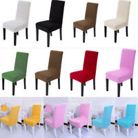 Wedding Spandex Stretch Chair Cover Dining Room Party Banquet Decor Seat Cover