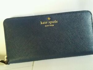 Kate spade lacey  zip around wallet oceanicblu