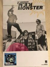 R.E.M. Monster 25th Anniversary Edition Promo Poster 2019 Deluxe Reissue Rem