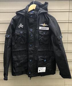 LUKER by Neighborhood Mens Smock N-JKT Hooded Jacket 2011 Black Coat XL M-65