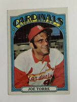 1972 Topps Joe Torre # 500 Baseball Card St. Louis Cardinals HOF