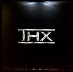 EBOND THX WOW! (1990) DEMO DISC Laser Disc NTSC LD001047