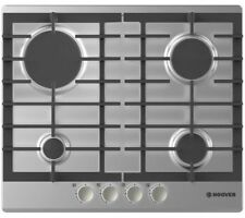 HOOVER HGH64SCE X Gas Hob - Stainless Steel LPG Convertible 60CM