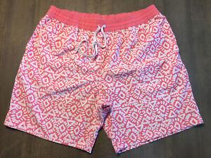 "Chubbies Mens Swim Trunks XLarge Lined Shorts drawstring Pockets 8"" Inseam EUC"
