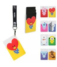 BTS X Line Friends Bt21 Official Clear Card Pocket (8 Designs)
