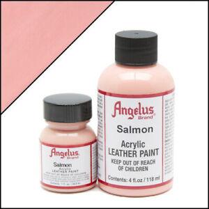 Angelus Acryl Lederfarbe Lachs (201) 118ml (105,93€/1L) Salmon Leder Schuhfarbe